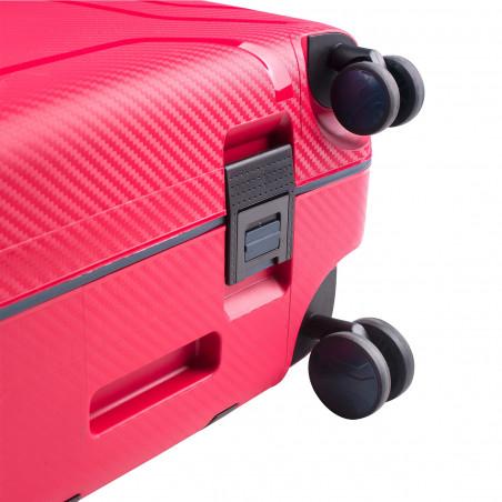 CarryOn Steward Handbagage Spinner 55cm Rood