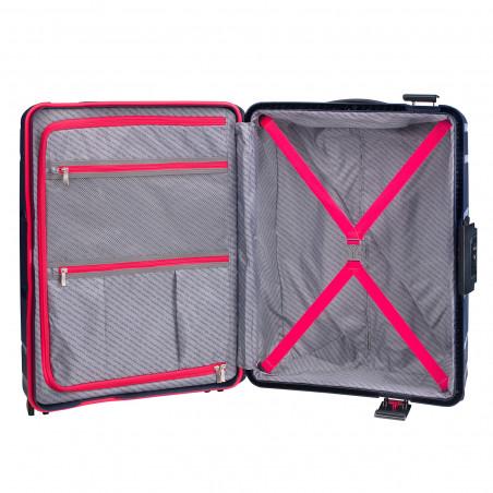 CarryOn Steward Handbagage Spinner 55cm Donkerblauw