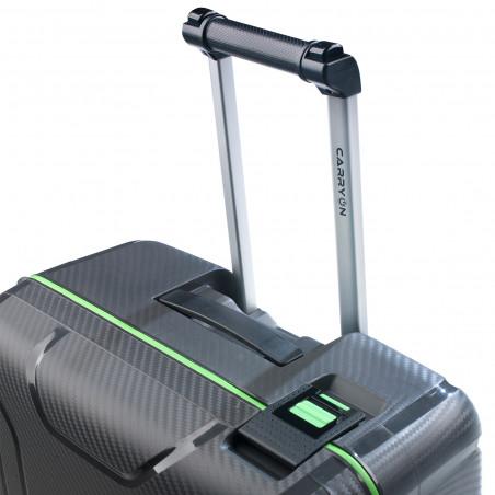 CarryOn Steward Handbagage Spinner 55cm Donkergrijs
