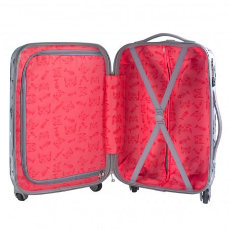 CarryOn Handbagage Koffer 55cm Kitten