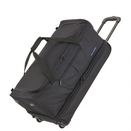 Travelite Basics Reistas met Wielen Duffle 55cm Expendable Zwart/Blauw