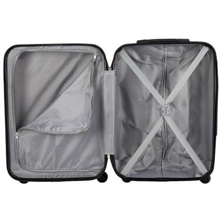 Travelite Quick 4 Wiel Handbagage Koffer 55cm Antraciet
