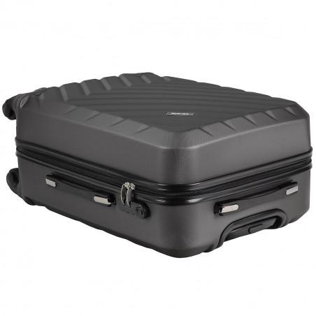 Travelite Quick 4 Wiel Handbagage Koffer 55cm Blauw