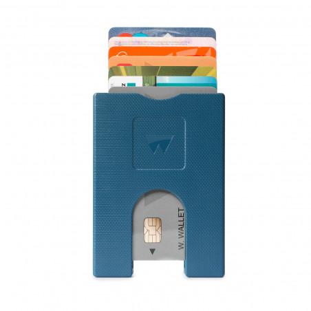 Walter Wallet Cardprotector Blauw