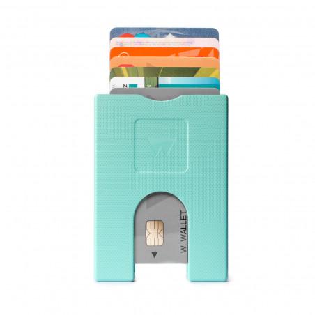 Walter Wallet Cardprotector Mint Groen