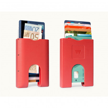 Walter Wallet Cardprotector Rood