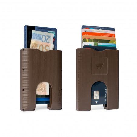Walter Wallet Cardprotector Bruin