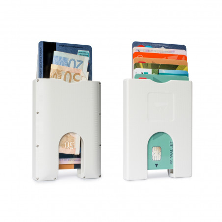 Walter Wallet Cardprotector Wit