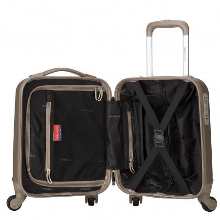 Decent Maxi-Air Handbagage Koffer 42cm Champagne