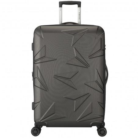 Decent Q-Luxx Koffer 77cm Expandable Antraciet