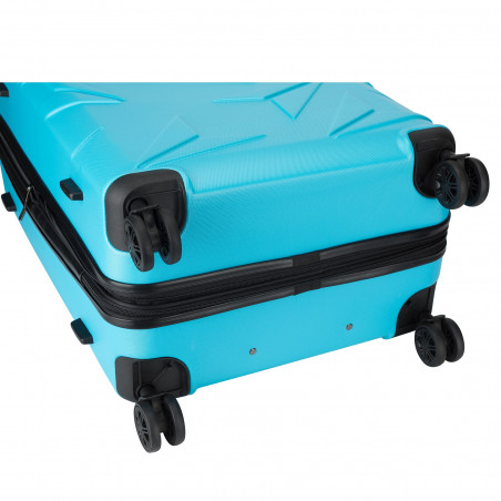Decent Q-Luxx Kofferset Blauw