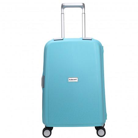 Decent Sportivo One Handbagage Koffer 55cm Lichtblauw