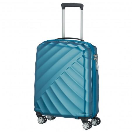 Titan Shooting Star 4 Wiel Handbagage Koffer 55cm Petrol