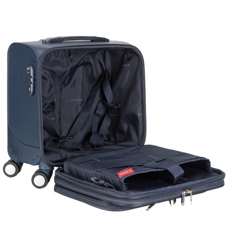 Decent B-Corso Business Trolley Donkerblauw
