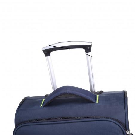 Decent Super Light Handbagage Trolley 50cm Donkerblauw