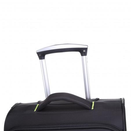 Decent Super Light Handbagage Trolley 50cm Zwart