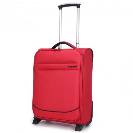 Decent Super Light Handbagage Trolley 50cm Rood