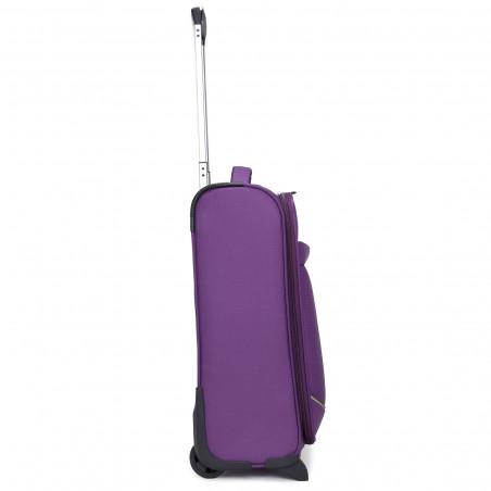 Decent Super Light Handbagage Trolley 50cm Aubergine