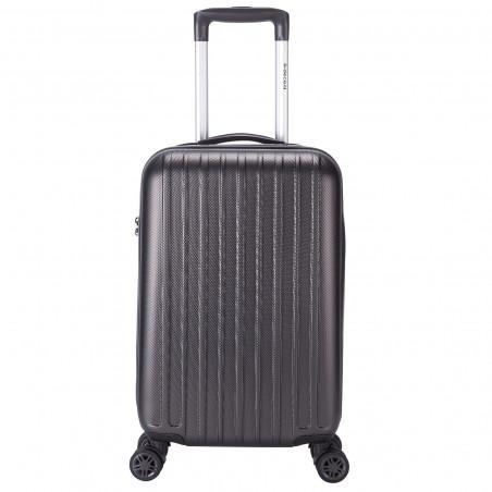 Decent Tranporto One Handbagage Koffer 55cm Antraciet