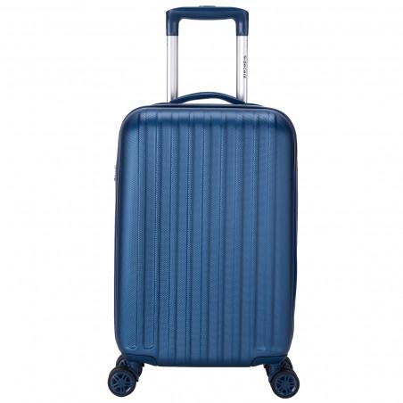 Decent Tranporto One Handbagage Koffer 55cm Donkerblauw
