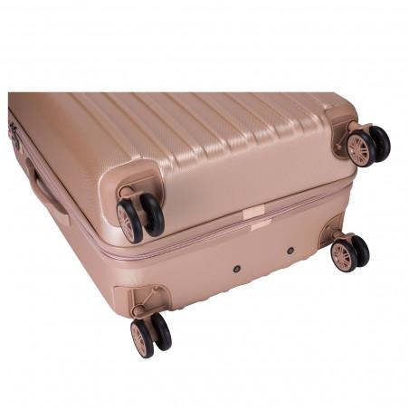Decent Tranporto One Handbagage Koffer 55cm Zalm