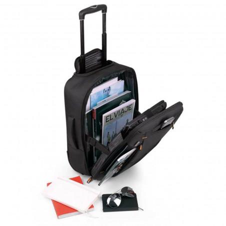 Gabol Piloto Handbagage Laptop Rugzaktrolley Zwart