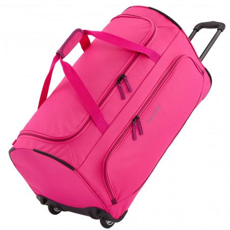 Travelite Basics Fresh Reistas met Wielen Roze