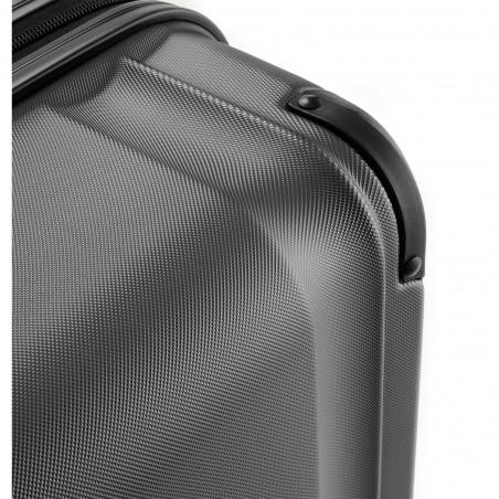 Travelite City 4 Wiel Handbagage Koffer 55cm Antraciet