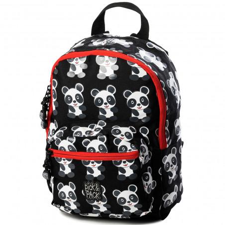 Pick & Pack Fun Panda Rugzak Zwart