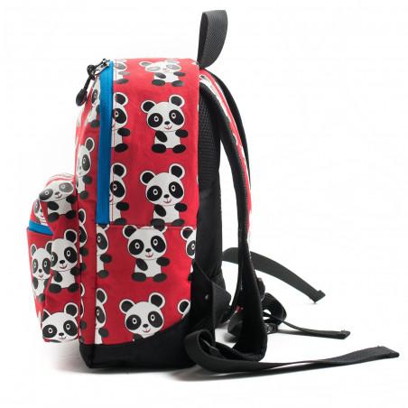 Pick & Pack Fun Panda Rugzak Rood