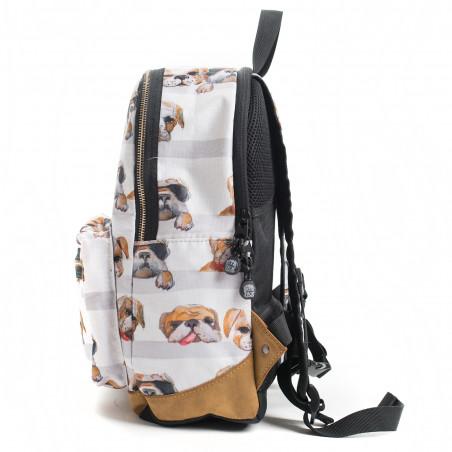 Pick & Pack fun Rugtas Honden Wit