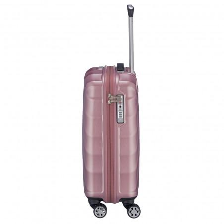 Titan Shooting Star 4 Wiel Handbagage Koffer 55cm Roze
