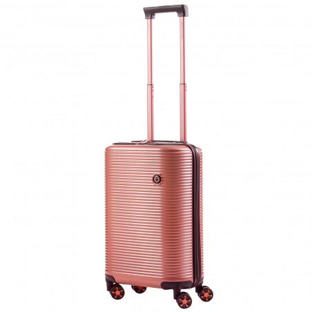 CarryOn BlingBling Handbagage Koffer 55cm Rose Gold