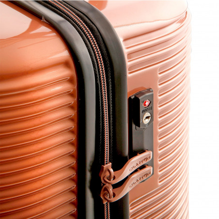 CarryOn BlingBling Koffer 66cm Rose Gold