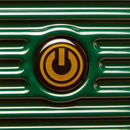CarryOn BlingBling Handbagage Koffer 55cm Groen Gold