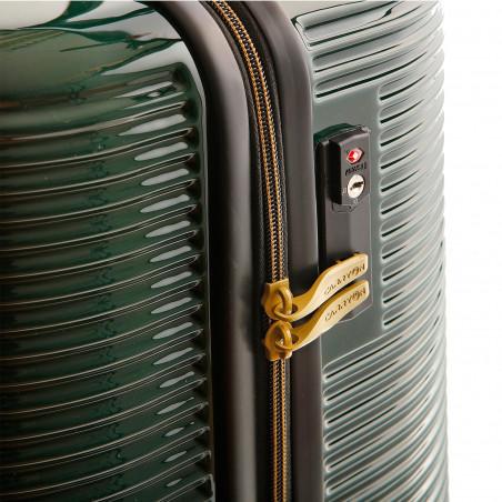 CarryOn BlingBling Koffer 66cm Groen Gold