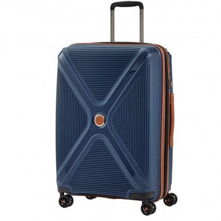 Titan Paradoxx Koffer 4 Wiel 68cm Expandable Blauw
