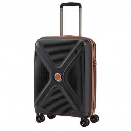 Titan Paradoxx Handbagage Koffer 4 Wiel 55cm Zwart