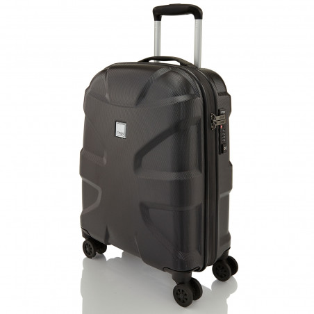 Titan X2 4 Wiel Handbagage Koffer 55cm Black Shark