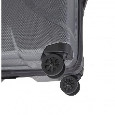 Titan X2 4 Wiel Handbagage Koffer 55cm Gunmetal Shark