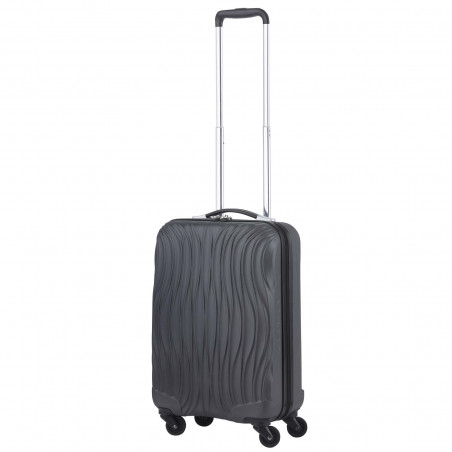CarryOn Wave Handbagage Trolley 55cm Antraciet