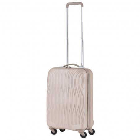 CarryOn Wave Handbagage Trolley 55cm Champagne