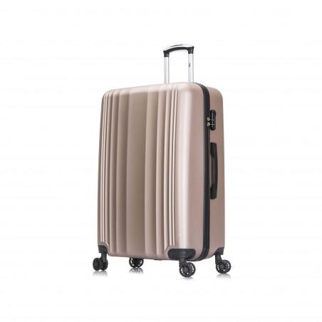 Suiteble Koffer 4 Wiel 78cm Champagne