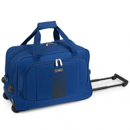 Gabol Roll Handbagage Reistas met Wielen 50cm Blauw