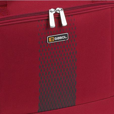 Gabol Roll Handbagage Reistas met Wielen 50cm Rood