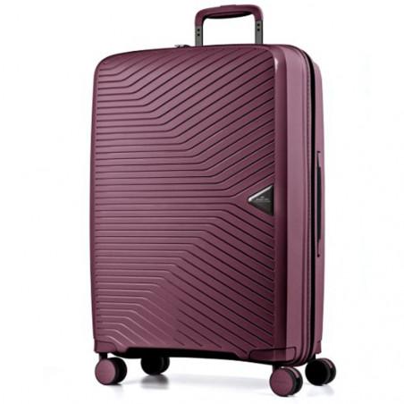 March Gotthard Handbagage Koffer 55cm Wine Rood