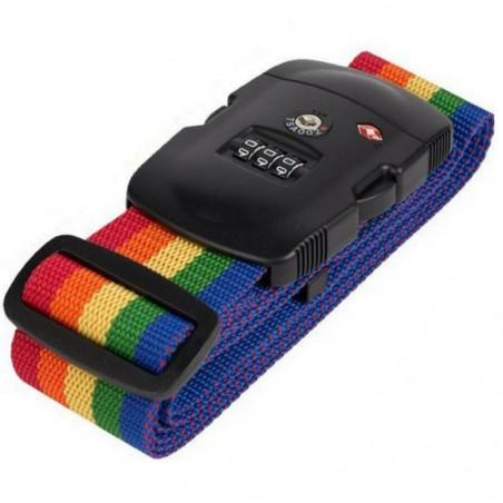 Kofferriem Rainbow TSA Cijferslot