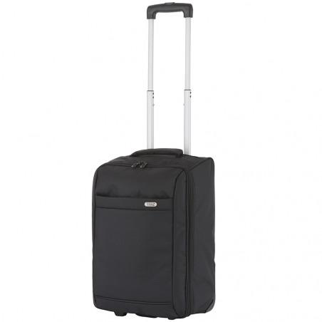 Travelz Handbagage trolley Opvouwbaar 51cm Zwart