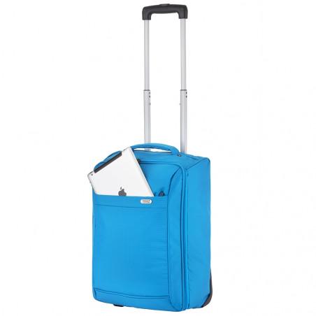 Travelz Handbagage trolley Opvouwbaar 51cm Blauw