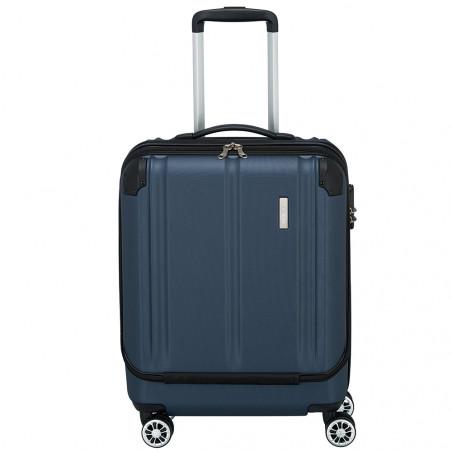 Travelite City Handbagage Businesswheeler 55cm Blauw